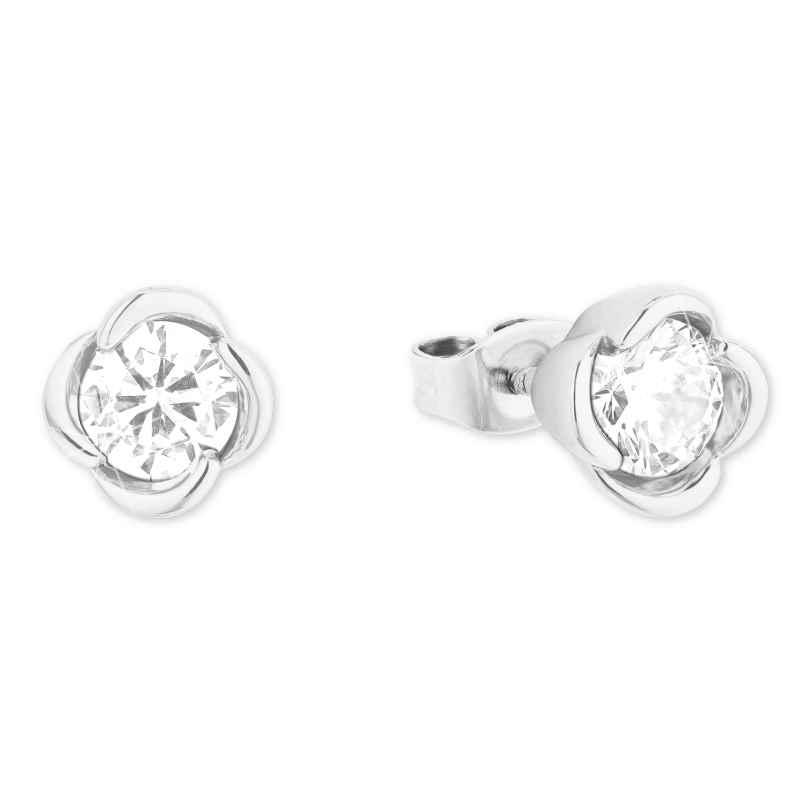 s.Oliver 2027612 Ladies' Stud Earrings Silver 925 Zirconia 4056867021036