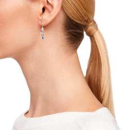 s.Oliver 2031452 Damen-Ohrringe Silber Ohrhänger