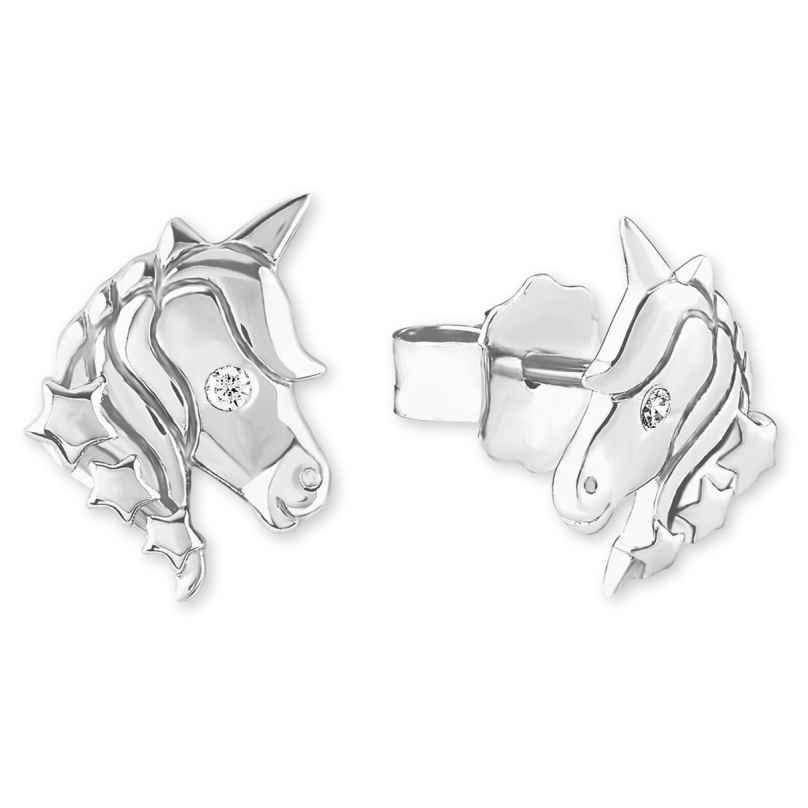 s.Oliver 2018519 Childrens Stud Earrings Unicorn 4056867005838