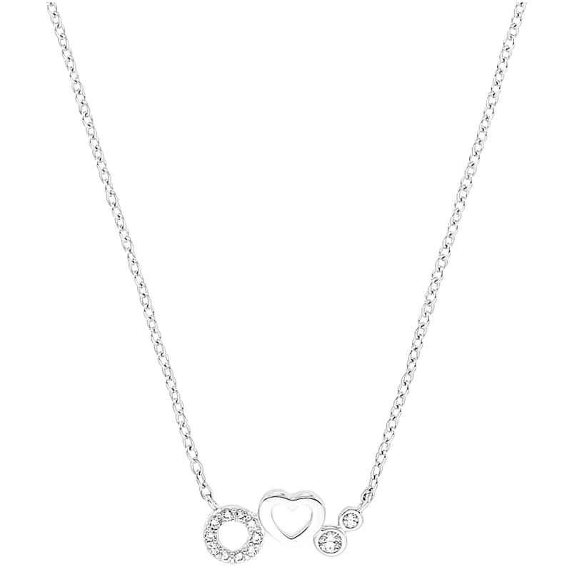 s.Oliver 2031500 Mädchen-Halskette Herz Silber 4056867028370