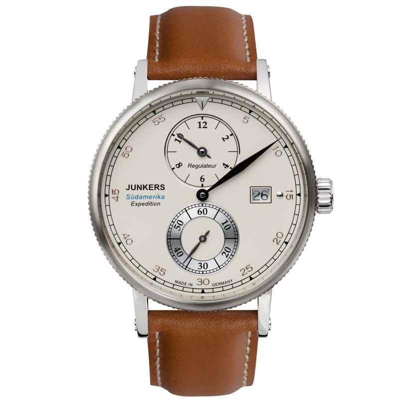 Junkers 6512-1 Expedition Südamerika Automatik Herren-Chronograph 4041338651218