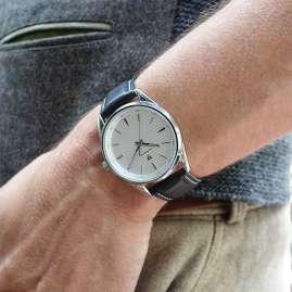 Junkers 9.32.02.03 Herren-Armbanduhr Professor Lederband Schwarz