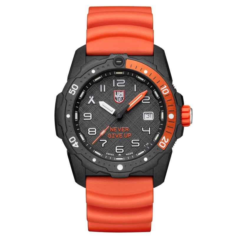 Luminox XB.3729.NGU Herren-Taucheruhr Bear Grylls Survival Orange/Schwarz 7611382600189