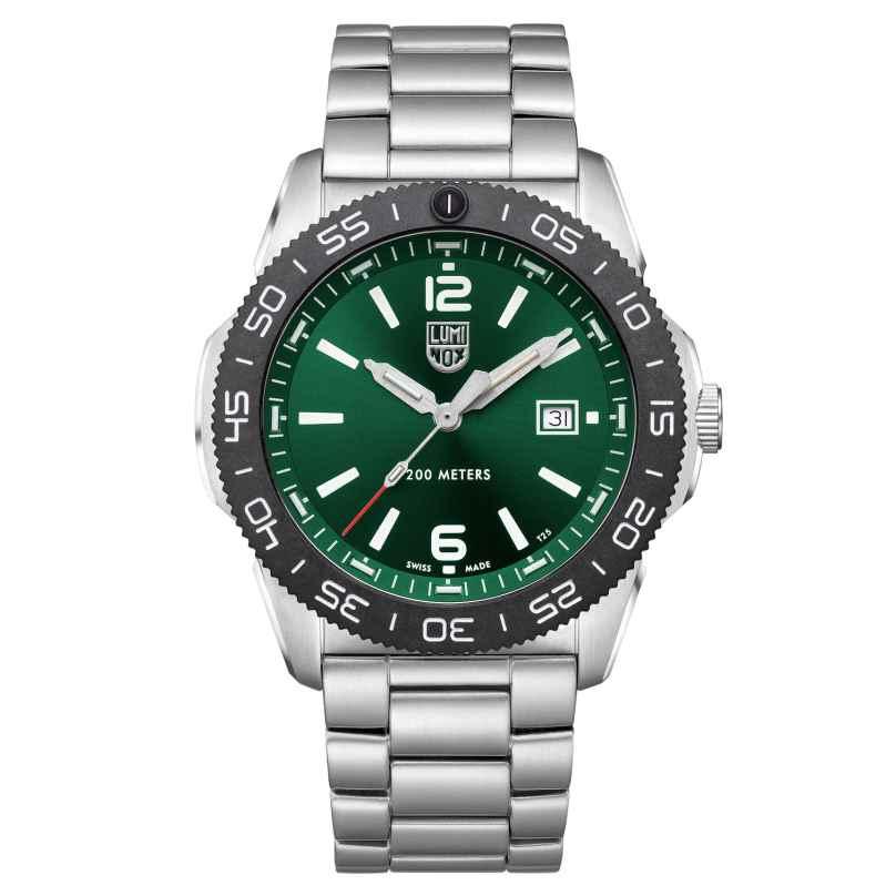 Luminox XS.3137 Diving Watch Pacific Diver Steel/Green 7611382602626