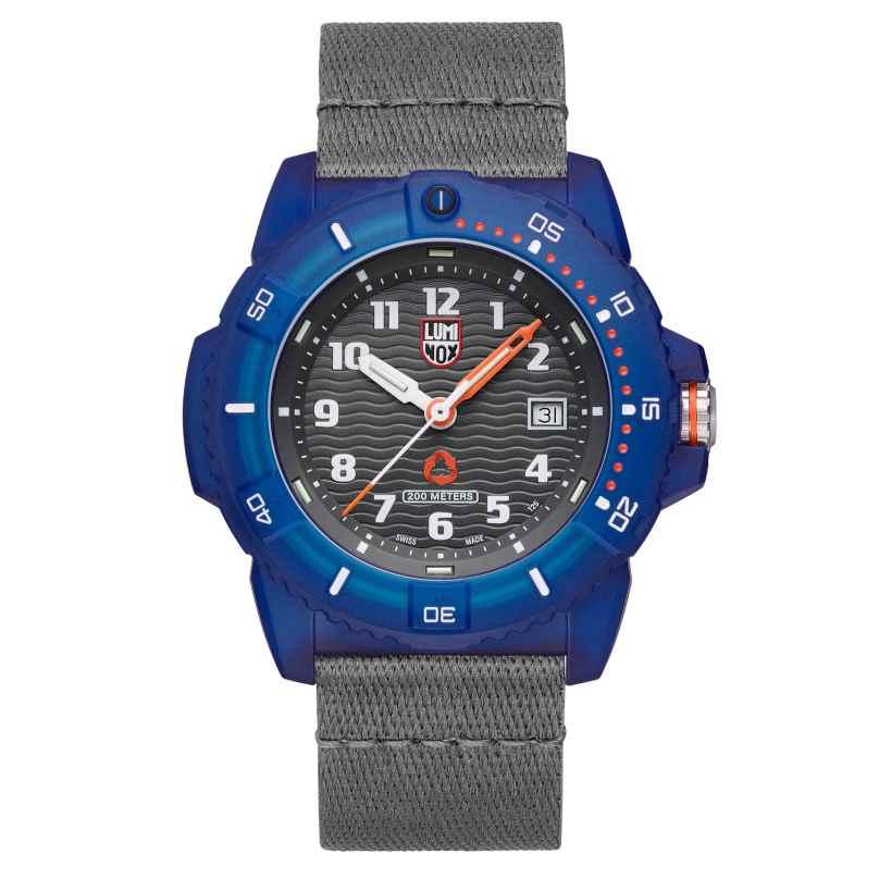 Luminox XS.8902.ECO Taucher-Armbanduhr #tide ECO Grau/Blau 7611382605146