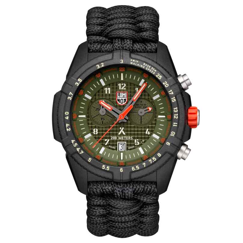Luminox XB.3797.KM Men's Watch Chronograph Paracord Strap Bear Grylls Survival 7630040983860