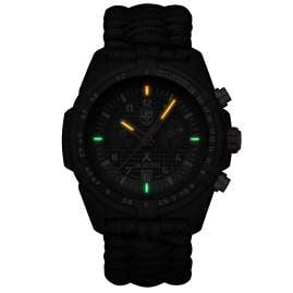 Luminox XB.3797.KM Men's Watch Chronograph Paracord Strap Bear Grylls Survival