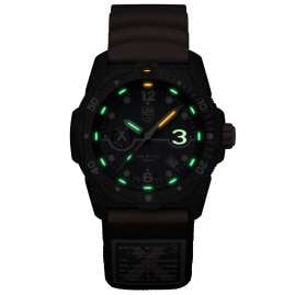 Luminox XB3723.R3 Herren-Taucheruhr Bear Grylls Survival Orange/Blau