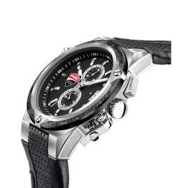 Ducati DTWGC2019101 Herrenuhr Chronograph Schwarz/Stahl