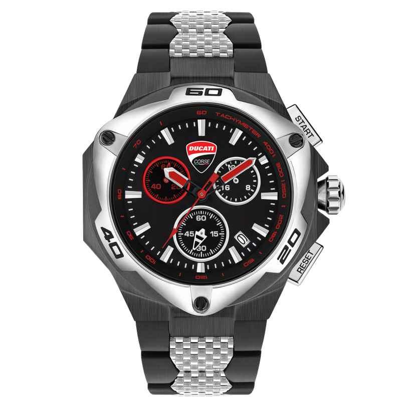 Ducati DTWGI2019009 Herrenuhr Chronograph mit Stahlband 4894816008512