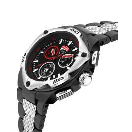 Ducati DTWGI2019009 Herrenuhr Chronograph mit Stahlband