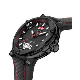 Ducati DTWGN2018903 Herrenuhr Schwarz/Rot