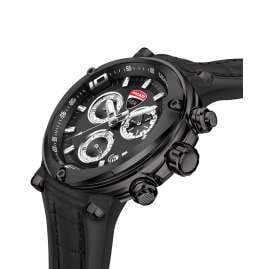 Ducati DTWGO2018801 Herren-Chronograph Schwarz/Anthrazit