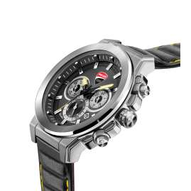 Ducati DTWGF2019204 Herrenuhr Multifunktion Schwarz/Gelb