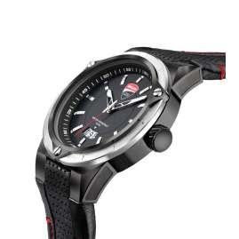 Ducati DTWGB2019602 Herren-Armbanduhr Schwarz/Rot