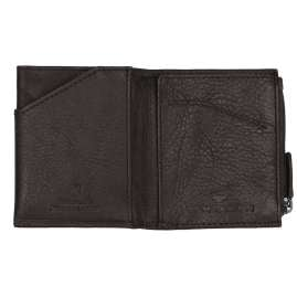 Tom Tailor 27310 Wallet Barry Brown Leather Micro with RFID Protection