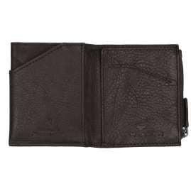 Tom Tailor 27310 Geldbeutel Barry Leder Braun Micro mit RFID Schutz