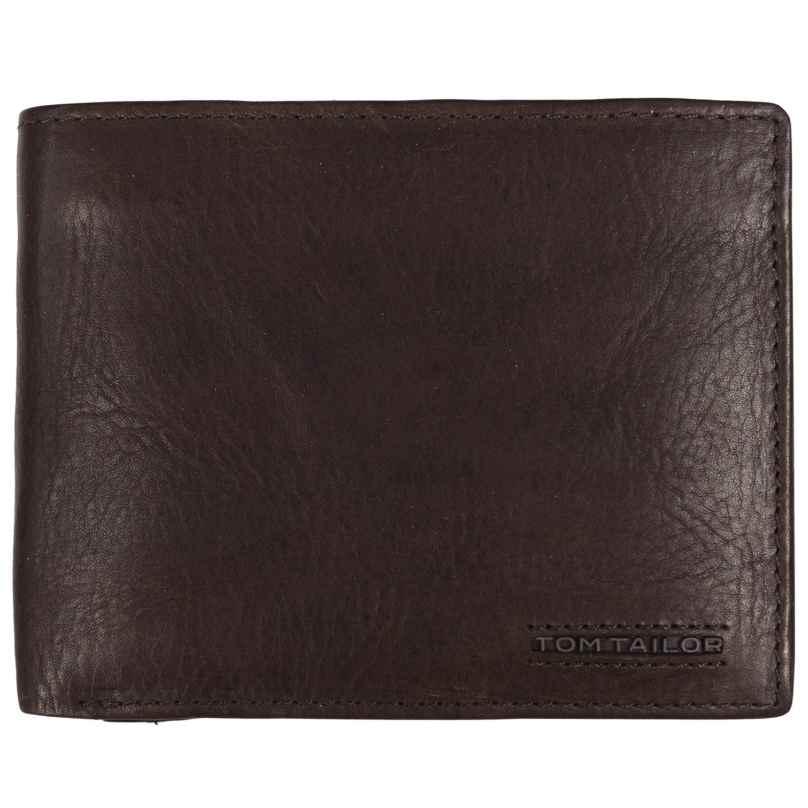 Tom Tailor 27312 Geldbörse Leder Braun mit RFID Schutz Barry 4251234459690