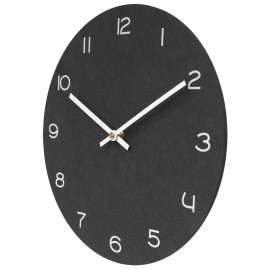 trendor 75862 Quartz Wall Clock Anthracite with White Numbers Ø 29 cm