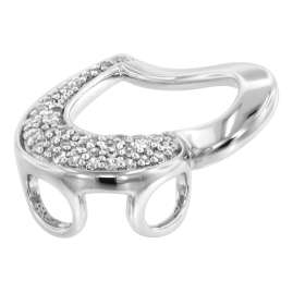 trendor 80258 Silver Pendant Heart