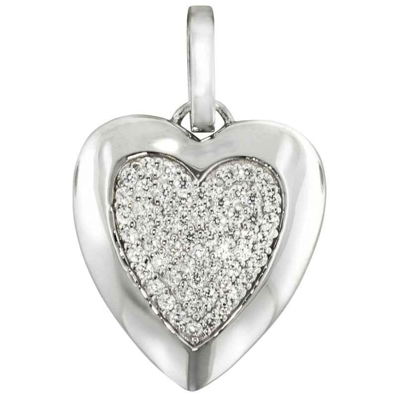 trendor 80265 Silber Anhänger Herz 4260266580265