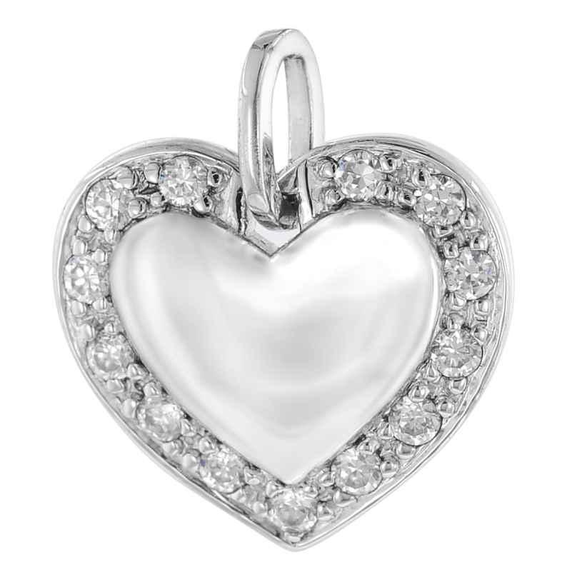 trendor 64413 Silber-Anhänger Herz 4260227764413