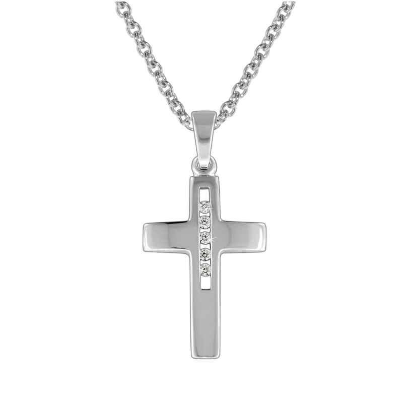 trendor 70135 Kreuz mit Halskette Sterlingsilber 925 4260333970135