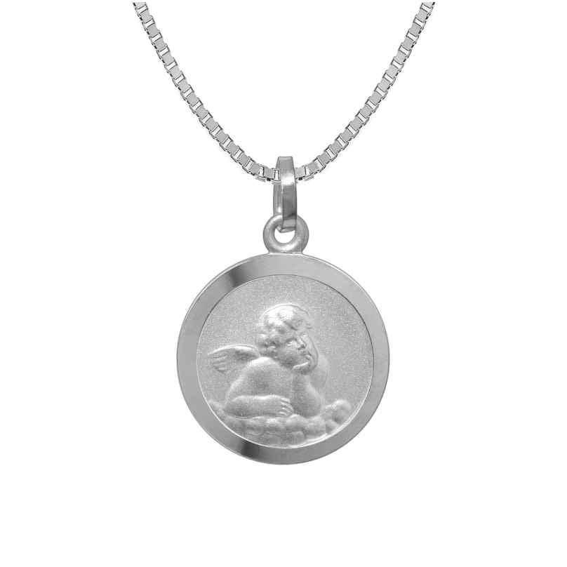 trendor 73181 Kinder-Halskette mit Schutzengel-Anhänger Silber 925 4260333973181