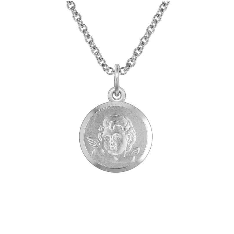 trendor 73396 Silberkette mit Amor für Kinder 4260333973396