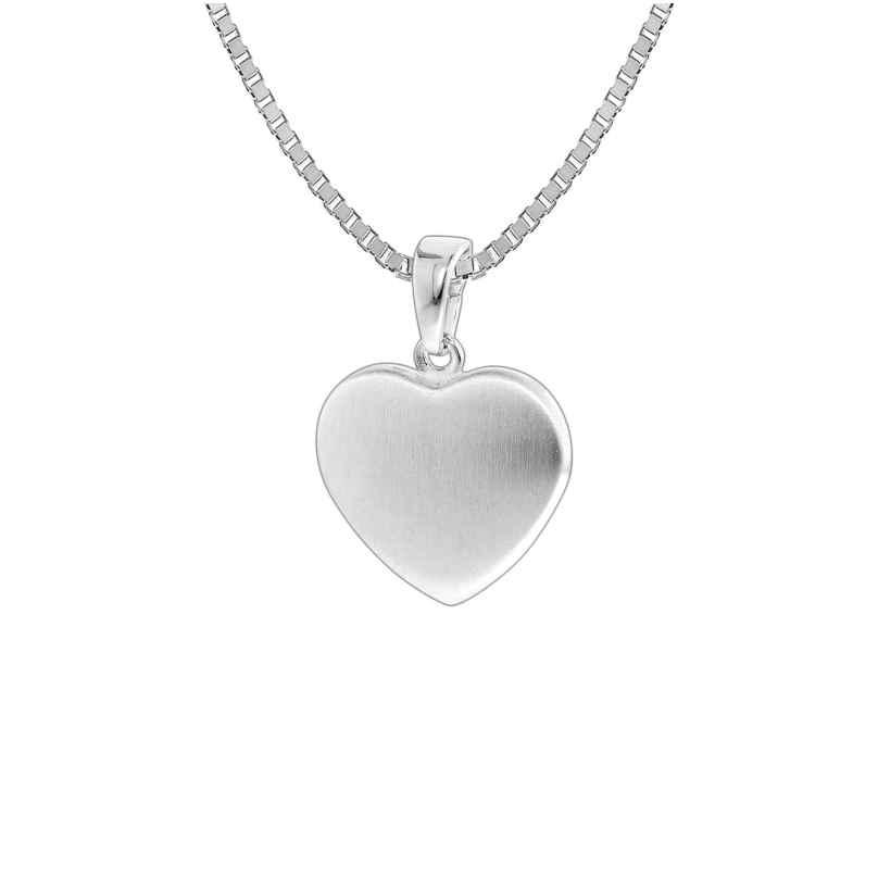 trendor 35823 Kinder-Halskette mit Herz-Anhänger Silber 925 4260435358237