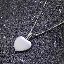trendor 35823 Kinder-Halskette mit Herz-Anhänger Silber 925