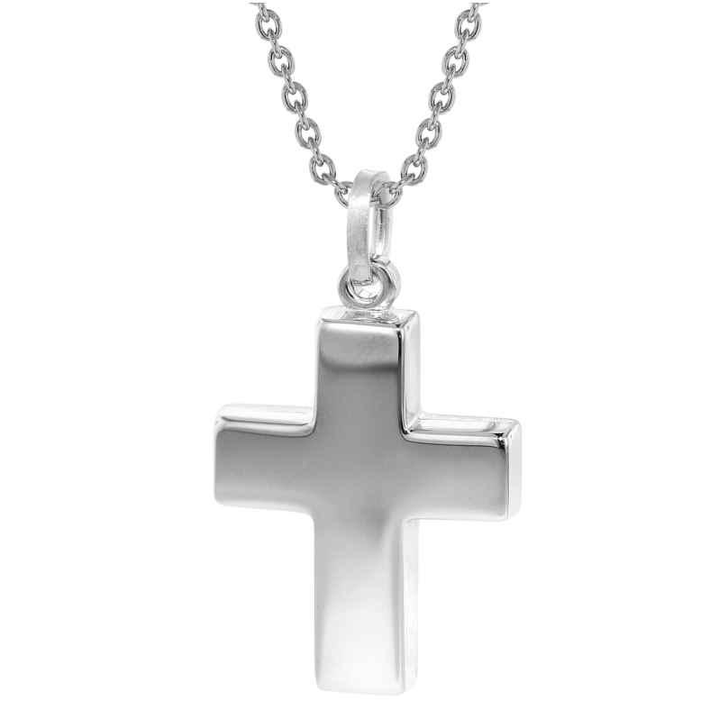 trendor 35845 Halskette mit Kreuz Silber 925 4260435358459