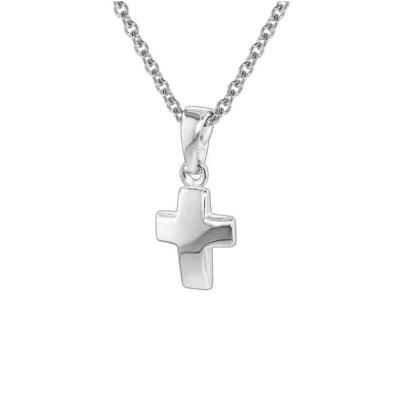 trendor 35787 Silver Cross Pendant Kids Necklace 4260435357872