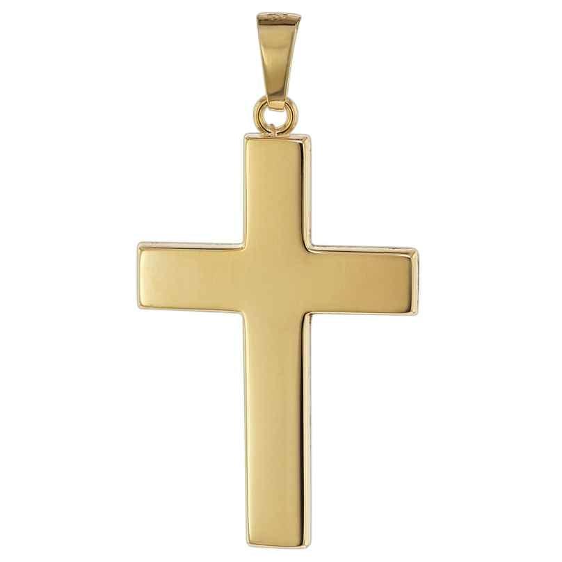 trendor 08624 Gold Pendant Cross 585 4260497086246