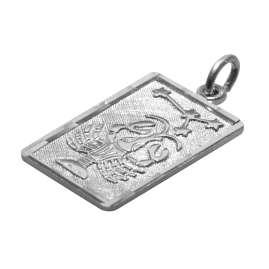 trendor 08743 Sternzeichen-Anhänger Krebs Silber