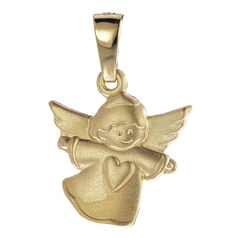 trendor 08757 Engel-Anhänger für Kinder Gold 585 4260497087571