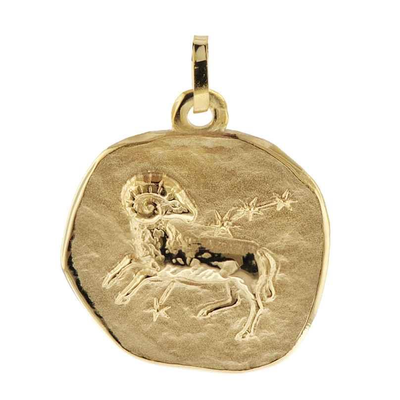 trendor 08985 Zodiac Pendant Aries Gold 333/8 ct 4260497089858