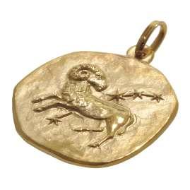 trendor 08985 Zodiac Pendant Aries Gold 333/8 ct
