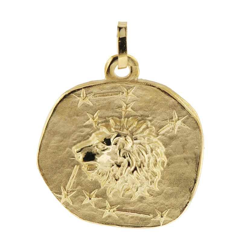 trendor 08989 Sternzeichen-Anhänger Löwe 333 Gold 20 mm 4260497089896