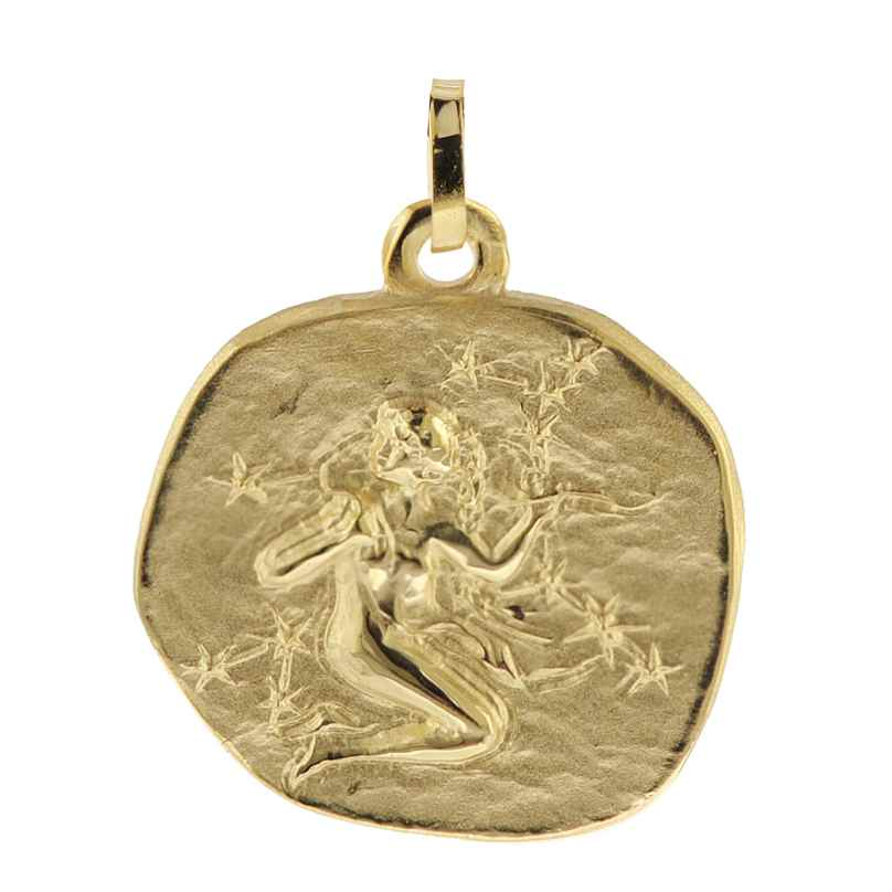 trendor 08990 Sternzeichen-Anhänger Jungfrau 333 Gold 20 mm 4260497089902