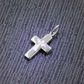 trendor 75012 Kreuz-Anhänger Silber 925