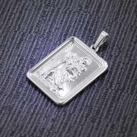 trendor 75014 Christophorus-Anhänger Silber 925