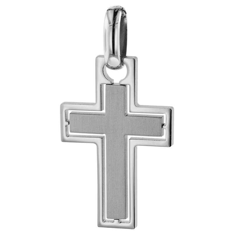 trendor 75076 Pendant Cross Stainless Steel 37 x 20 mm 4260641750764