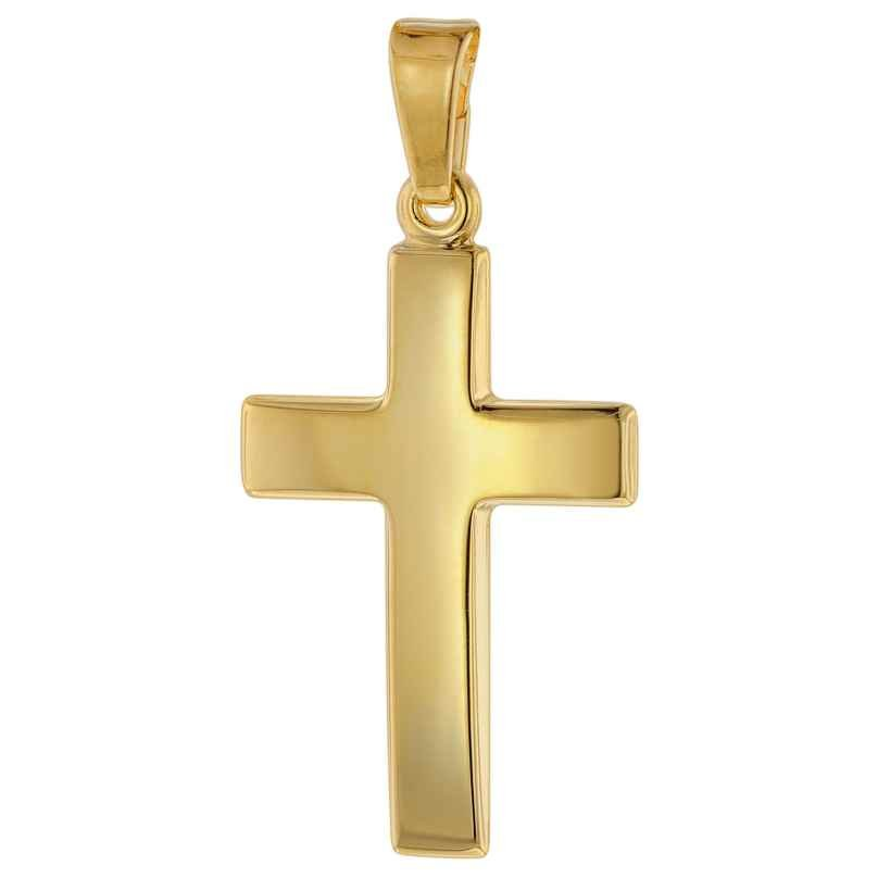trendor 75416 Cross Pendant 21 mm Gold 750 / 18K 4260641754168