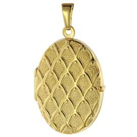 trendor 75535 Locket with Pattern Gold 333 / 8K