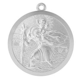 trendor 39035 Schlüsselanhänger Christophorus Silber 925