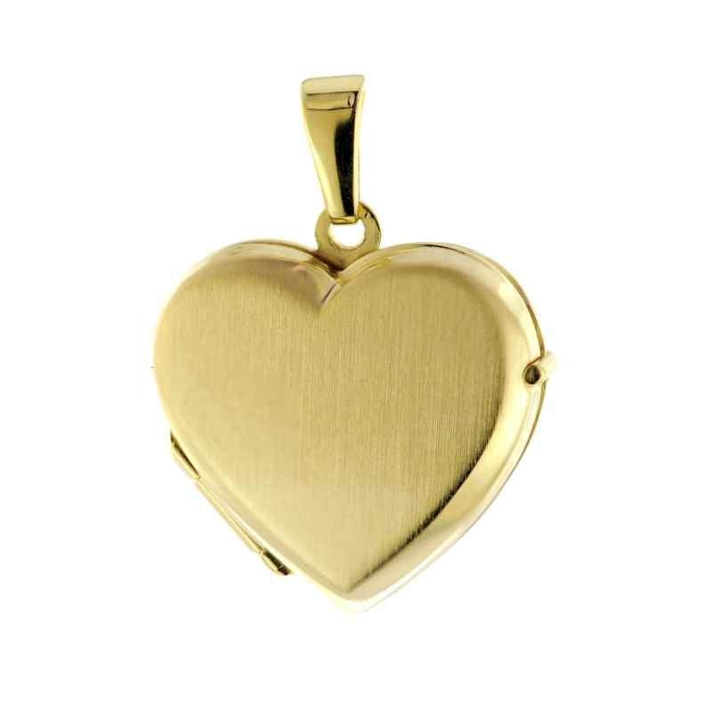 trendor 51092 Medaillon Herz Anhänger Gold 333 / 8K 4260727510923