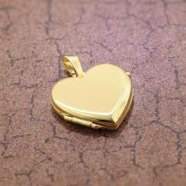 trendor 51092 Heart Locket Pendant Gold 333 / 8K