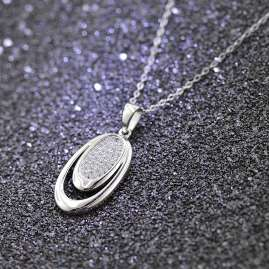 trendor 65151 Silver Necklace