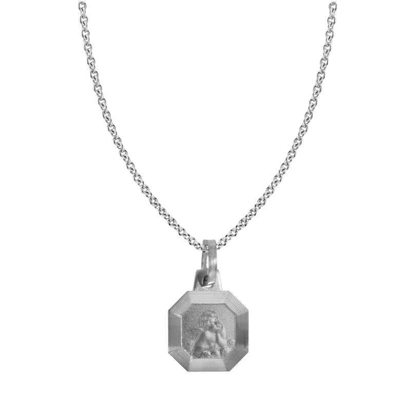 trendor 87530 Silberkette mit Amor-Anhänger 4260266587530